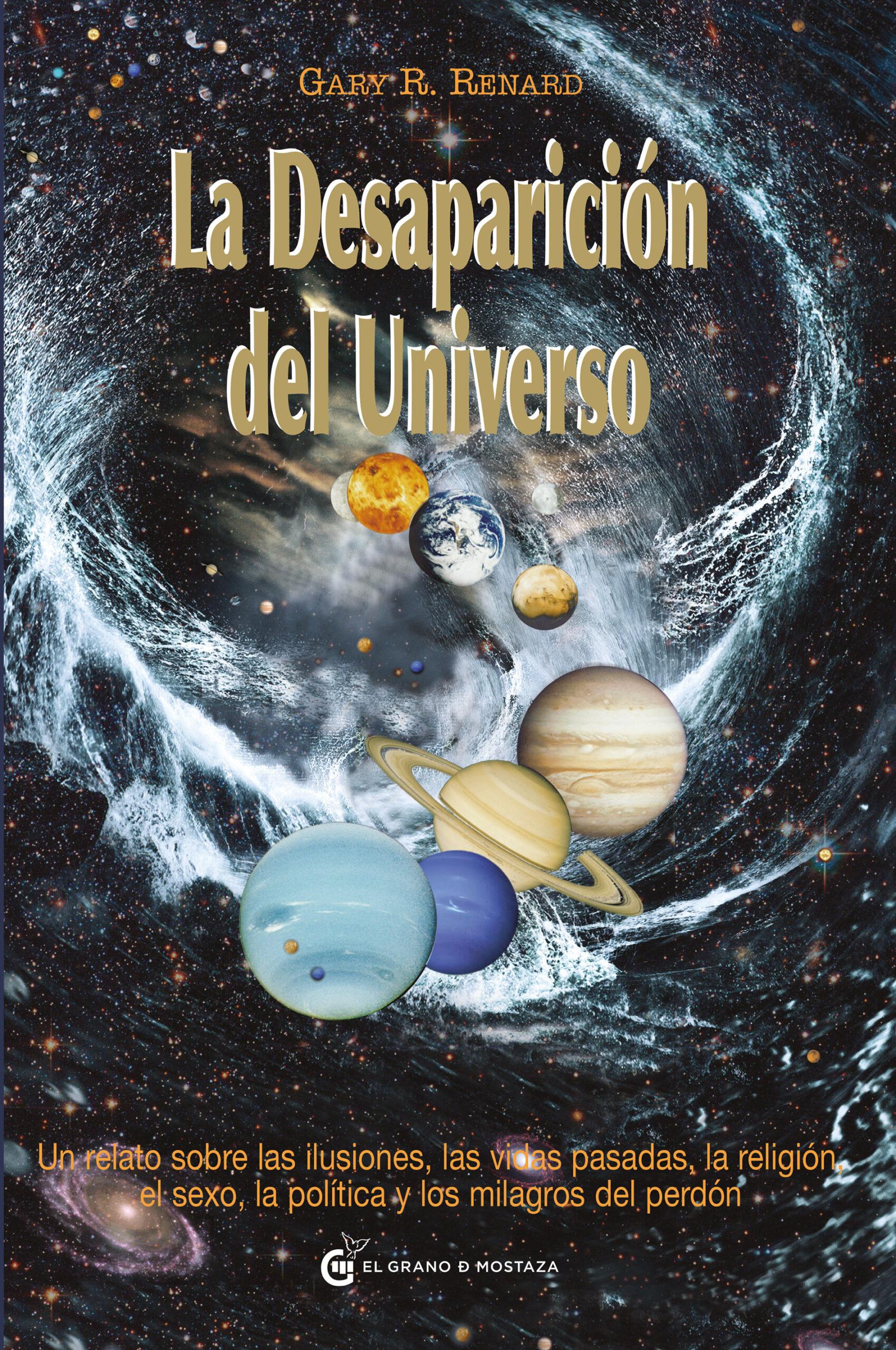 la desaparición del universo portada