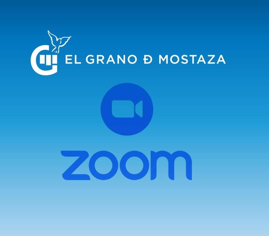 anuncio del evento de zoom